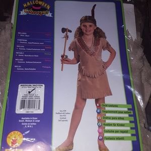 Girls Indian girl costume by rubies
